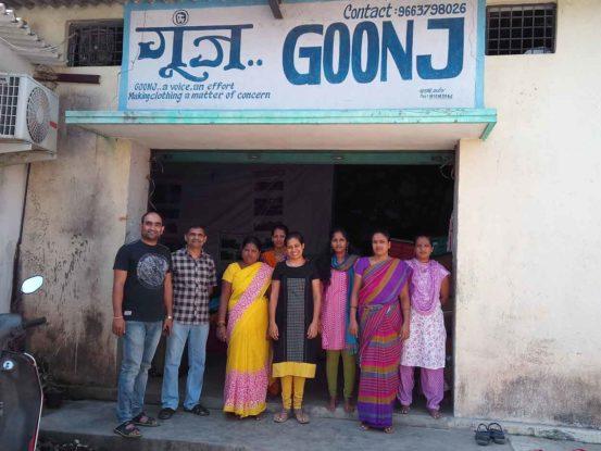 For Goonj, Aakruti Silverline, 23 Oct 2017