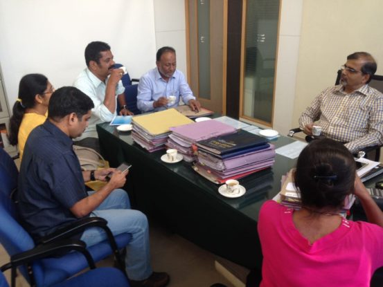 Discussion on BMTC Feeder Service for HSR Layout